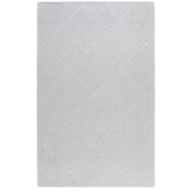 allen + roth Greek Key Rectangular Indoor Tufted Area Rug (Common: 5 x 8; Actual: 60-in W x 96-in L)