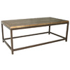 Safavieh American Home Medium Oak Fir Rectangular Coffee Table