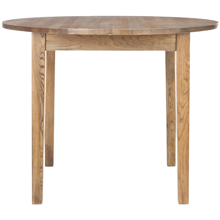 Safavieh American Home Light Brown Round Dining Table At