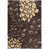 Safavieh Florida Shag 8-ft x 10-ft Rectangular Tan Transitional Area Rug