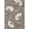 Safavieh Florida Shag 8-ft x 10-ft Rectangular Gray Transitional Area Rug