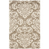 Safavieh Florida Shag 5-ft 3-in x 7-ft 6-in Rectangular Beige Transitional Area Rug