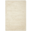 Safavieh California Shag Ivory Rectangular Indoor Machine-Made Area Rug (Common: 8 x 10; Actual: 96-in W x 120-in L x 0.92-ft Dia)