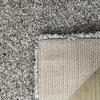 Safavieh California Shag Silver Rectangular Indoor Machine-Made Area Rug (Common: 8 x 10; Actual: 96-in W x 120-in L x 0.92-ft Dia)