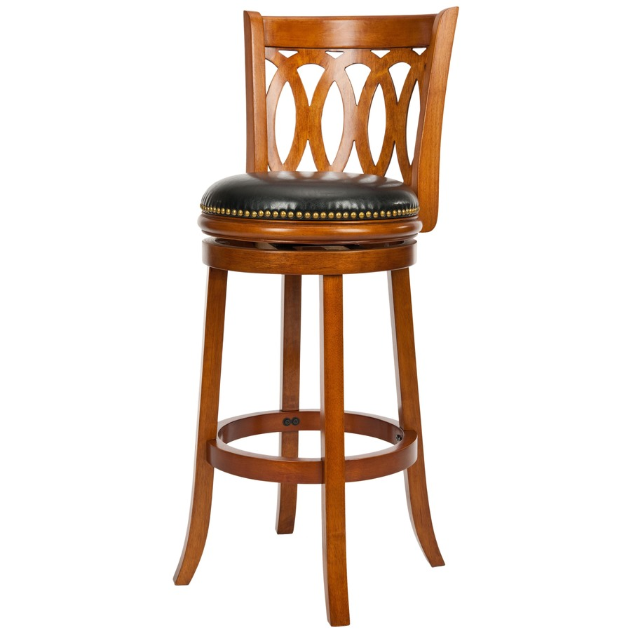 Shop Safavieh Fox Brown 29 in Bar Stool at Lowescom : 683726979999 from lowes.com size 900 x 900 jpeg 76kB