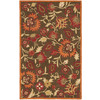 Safavieh Blossom 6-ft x 9-ft Rectangular Tan Floral Area Rug