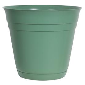 10.5-in H x 12-in W x 12-in D Green Indoor/Outdoor Planter