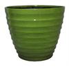allen + roth 14-in x 11.5-in Green Plastic Planter