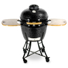 Pit Boss Pellet Grills 22-in Gloss Black Kamado Charcoal Grill