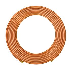 Mueller 5/8-in dia x 50-ft L Coil Copper Pipe