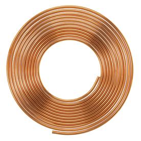 Mueller 1-in dia x 60-ft L Coil Copper Pipe
