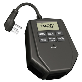 Utilitech Outdoor Digital Photocell Tri-Mode Timer