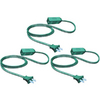 Holiday Living 9-ft 3-Outlet 16-Gauge Indoor Extension Cord