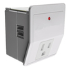 Utilitech 3-Outlet Home Office Surge Protector with USB Charger
