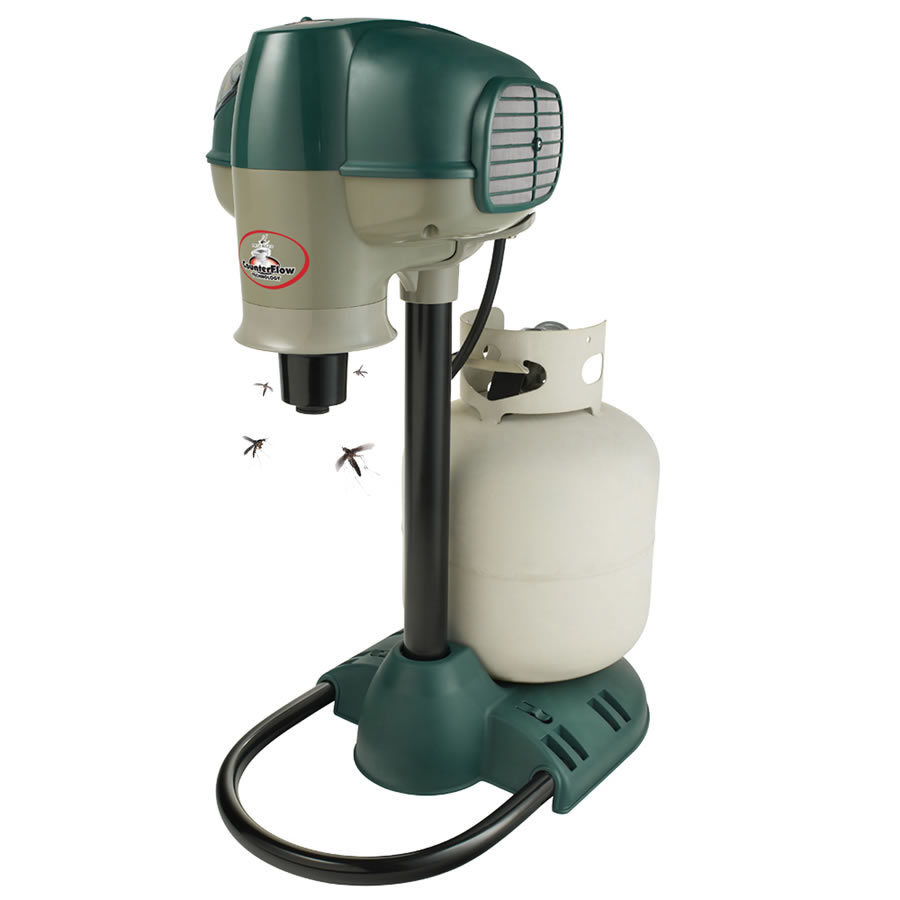 shop mosquito magnet portable electric and propane mosquito trap with lure at