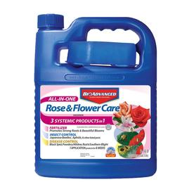 BAYER ADVANCED 1/2-Gallon All-in-One Rose and Flower Care Concentrate