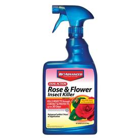 BAYER ADVANCED 24 Oz. Ready-to-Use Dual-Action Rose and Flower Insect Killer