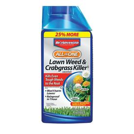 BAYER ADVANCED All-In-One Lawn Weed & Crabgrass Killer
