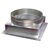 Standex ADP 8-in x 10-in Galvanized Duct
