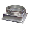 Standex ADP 4-in x 8-in Galvanized Duct