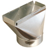 Standex ADP 7-in x 10-in Galvanized Duct