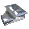 Standex ADP 8-in x 14-in Galvanized Duct