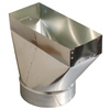 Standex ADP 6-in x 14-in Galvanized Duct