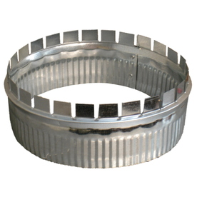 Standex ADP 4-in x 3-in Galvanized Duct
