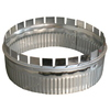 Standex ADP 8-in x 3-in Galvanized Duct