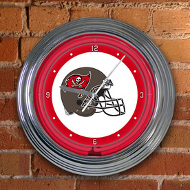 "The Memory Company 15"" Neon Clock-Buccaneers"
