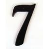 Gatehouse 5-in Black House Number 7