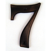 Gatehouse 5-in Aged Bronze House Number 7