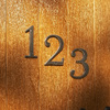 Gatehouse 4-in Aged Bronze House Number
