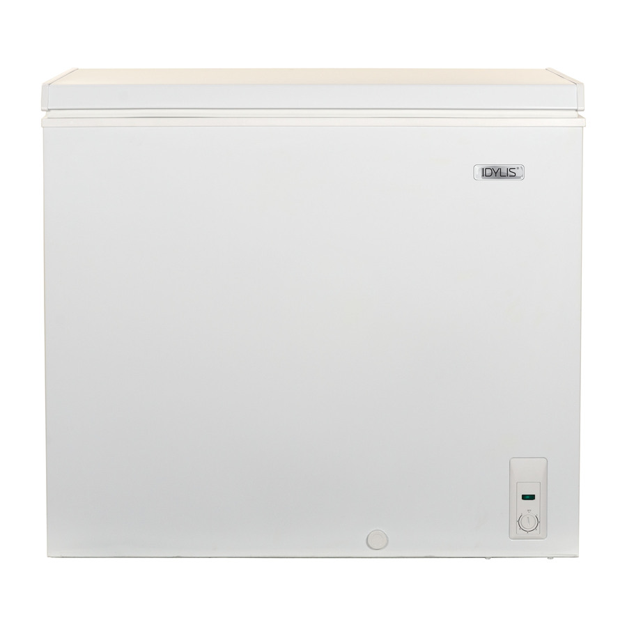 Previous next zoom out zoom in idylis 7 cu ft chest freezer white