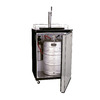 Haier 6.4 cu ft Stainless Steel BrewMaster Kegerator