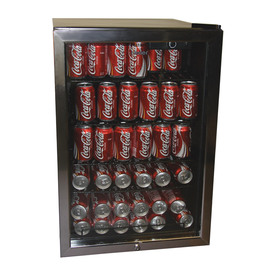 Haier 4 cu ft Black Free Standing Beverage Center