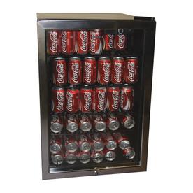 Haier 4-cu ft Black Freestanding Beverage Center