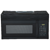 Haier 1.6 cu ft Over-the-Range Microwave (Black)