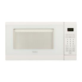Haier 0.7-cu ft 700-Watt Countertop Microwave (White)