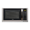 Haier 0.9 cu ft 900-Watt Countertop Microwave (Silver)