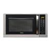 Haier 0.9-cu ft 900-Watt Countertop Microwave (Silver)