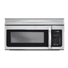 Haier 1.6-cu ft Over-The-Range Microwave Sensor Cooking Controls (Stainless Steel) (Common: 30-in; Actual: 29.88-in)