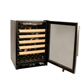 Haier 50 Bottle Capacity Built-In or Freestanding Wine Cellar