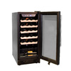 Haier 26-Bottle Black Wine Chiller