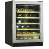Haier 48-Bottle Stainless Steel Dual Zone Wine Chiller