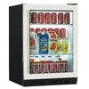 Haier 5.83 cu ft Stainless Steel Built-In Beverage Center