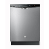 Haier 24-in Built-In Dishwasher with Hard Food Disposer and Stainless Steel Tub (Stainless Steel) ENERGY STAR