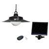 Sunforce 5.31-in Black Solar Outdoor Pendant Light