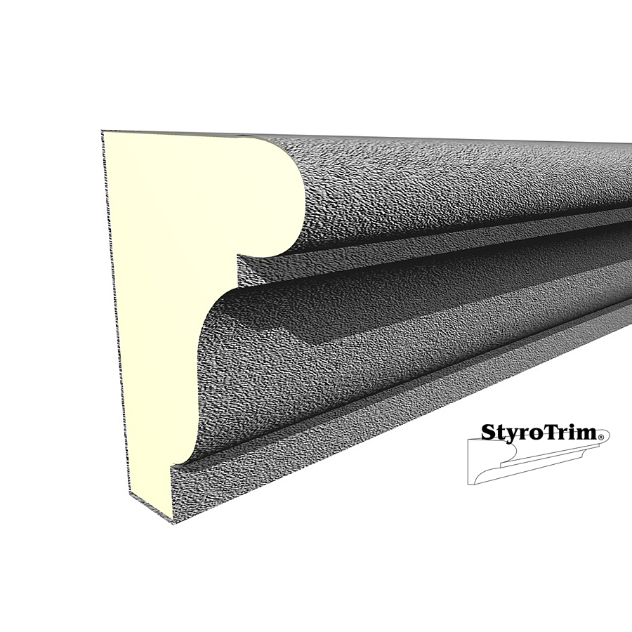 Shop 4 5 In X 8 Ft Styrotrim Sill 3520 8 Ft Stucco Coat At