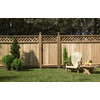 Severe Weather Western Red Cedar Wood Fence Panel (Common: 8-ft x 6-ft; Actual: 8-ft x 5.7-ft)